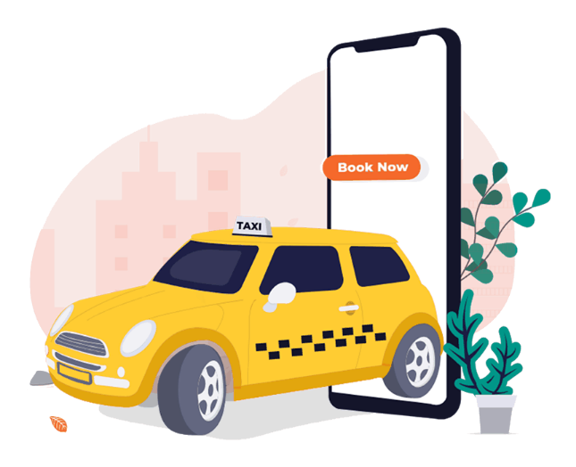 On-demand Taxi booking iOS and Android app